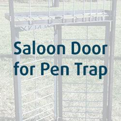 Saloon Door For Pen Trap